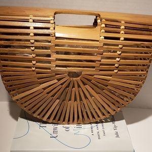 Handmade bamboo bag